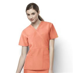 WonderWink Origins Women's Fashion Waist Scrub Tops #6056