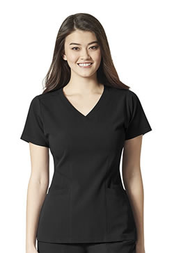 Wonderwink AERO Women's Flex Back V-neck Tops #6129