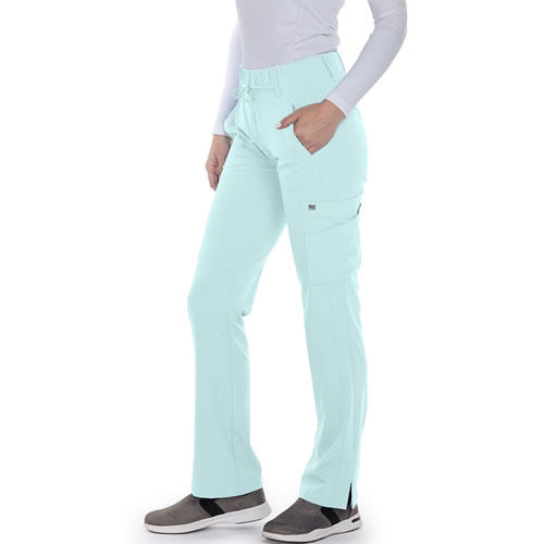 feb50e30917 Grey's Anatomy Signature Series Mid-rise Double Cargo Scrub Pant #2218