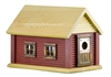 Cabin Birdhouse | Cedar | Handcrafted by Boulder Bay Birdhouse | Made in USA