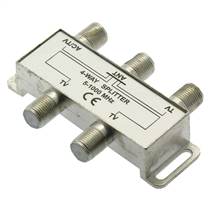 4Way AC Power Pass Splitter