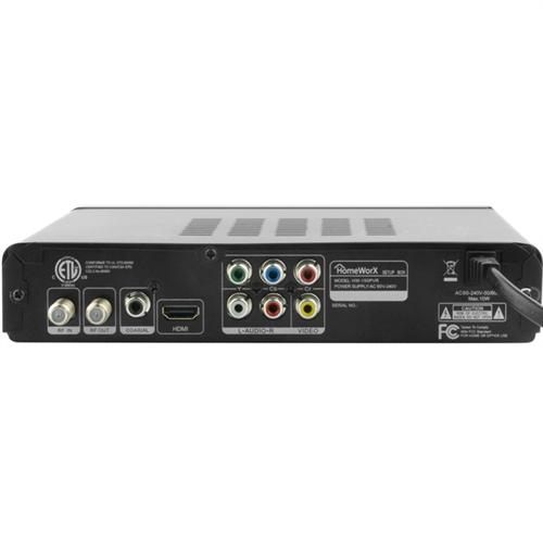 Homeworx Digital TV Tuner with EPG Channel Guide  sc 1 st  TV Antenna Sale & The Homeworx HW-150PVR Digital TV Tuner is a digital to analog ... Aboutintivar.Com