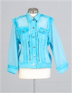 Azi Denim Jacket Z10697