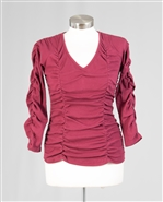 Azi Ribbed Knit Top Z10977