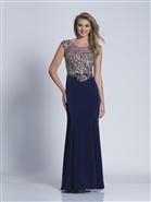 Dave & Johnny Prom Dress 3180W