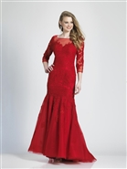 Dave & Johnny Prom Dress 3756W