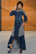 Dv Jean Skirt Set 8438