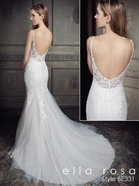 Ella Rosa Bridal Gown BE331