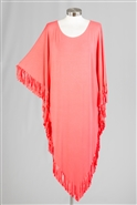 Etc Fringe Tunic Top BKK004V