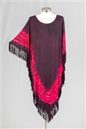 Etc Fringe Tunic Top BKK04
