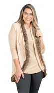 Fashion Apparel Fur Vest FP60101