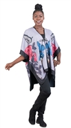 Fashion Apparel Poncho FP60406