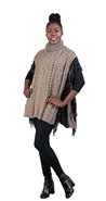 Fashion Apparel Poncho FP60448