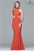 7560 Faviana Prom Dress Peach