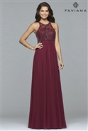 Faviana Chiffon Dress S7989