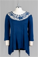 Forgotten Grace Tunic Top 9255AX