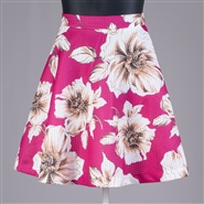 Ft Inc. Floral Skirt CH8257