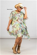 Jerry T Poncho Dress SR7195