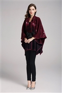 Jerry T Belted Poncho SR7197