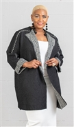 Jerry T Crinkle Cardigan SR7235