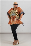 Kara Chic Kaftan Top TU293