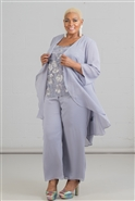 Le Bos Long Pant Suit 3pc 29159