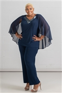 Le Bos Long 2pc Pant Suit 29312