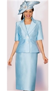 Lily & Taylor Skirt Suit 3859T