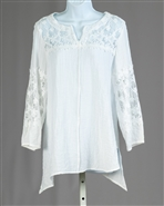 Moonlight Sheer Slv Top 2154