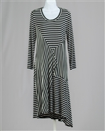 Moonlight Stripe Dress 9163