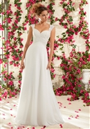 Mori Lee Bridal Gown Lace 6794