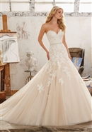 Mori Lee Bridal Gown 8101