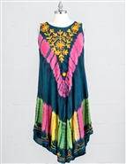 Nf Tie Dye Dress PNA1037