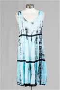 Nf Tie Dye Dress PNA1134
