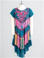 Nf Tie Dye Dress PNA1235
