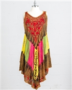 Nf Tie Dye Dress PNA1283