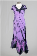 Nf Tie Dye Long Dress PNA663