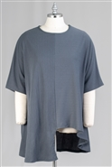 Omango Solid Tunic Top CHT209