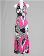 Radzoli Print Maxi Dress 0009