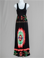 Radzoli Print Maxi Dress 16126