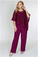 Rm Richards 2pc Pant Set 2289W