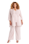 R&m Richards 3pc Pant Set 7216W