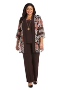 Rm Richards 2pc Pant Set 7496W