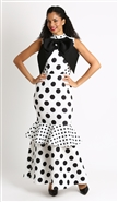 Soul Line Polka Dot Dress 8343