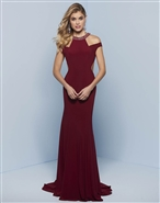 Splash Prom Jersey Dress J812
