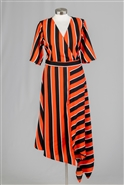 True Destiny Stripe Skirt 6694SK