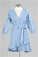 True Destiny Stripe Dress 6719DR