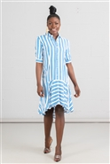 True Destiny Stripe Dress 6772DR
