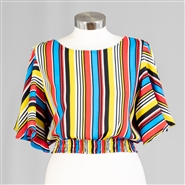 True Destiny Stripe Top 6827T