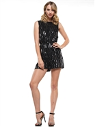 Why Sequin Romper B190340